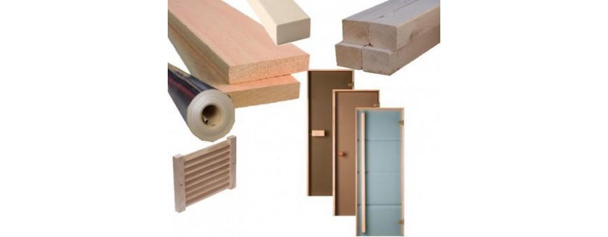 Materiały do budowy saun